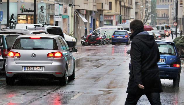 Imagen de la calle Paulino Caballero de Pamplona.