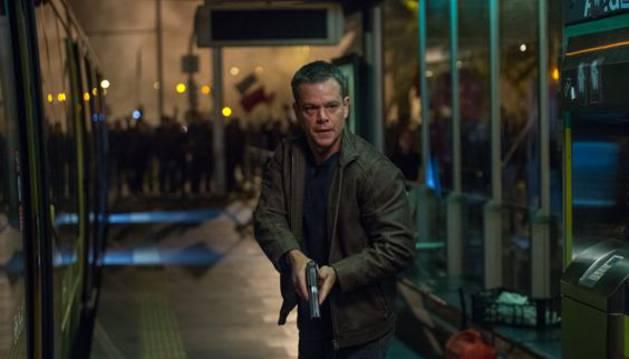 Matt Damond en 'Jason Bourne'.