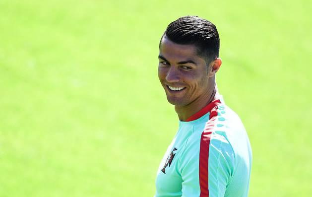 El portugués Cristiano Ronaldo.