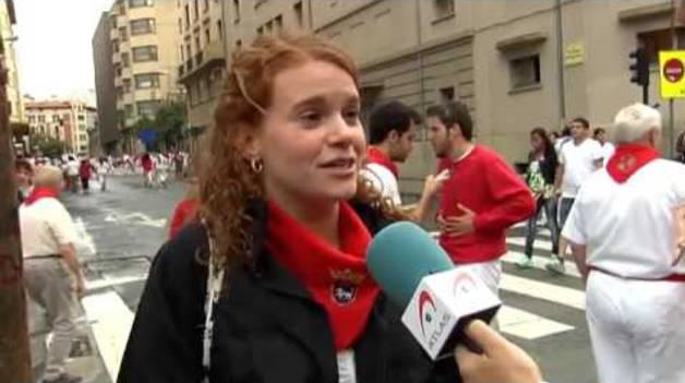 Pamplona sale a la calle contra las agresiones sexuales