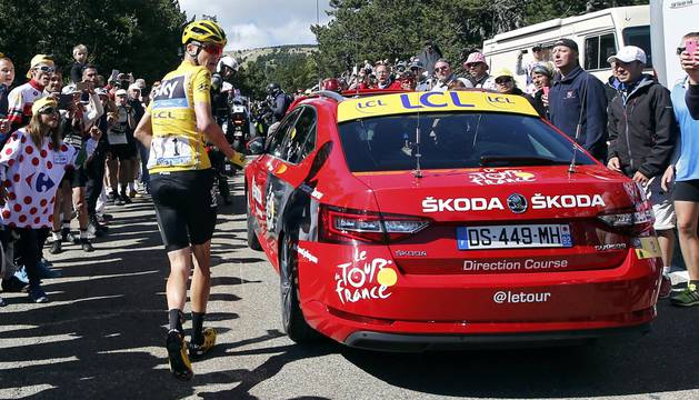 El incidente de Froome