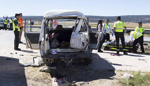 Tres personas fallecen y seis resultan heridas en un accidente en Salobral