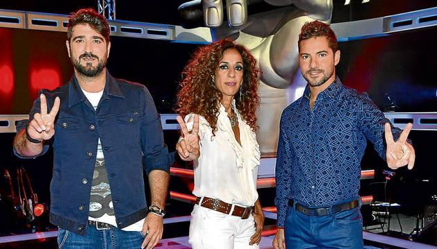 Antonio Orozco, Rosario Flores y David Bisbal son los nuevos 'coaches'.