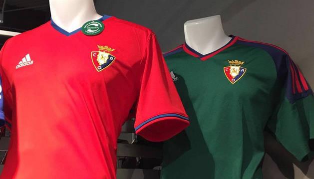 Ayer se filtró por las redes sociales la nueva equipación de Osasuna.