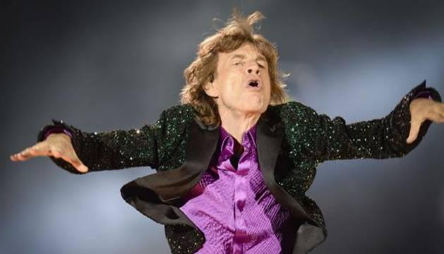 El vocalista de los Rolling Stones, Mick Jagger.