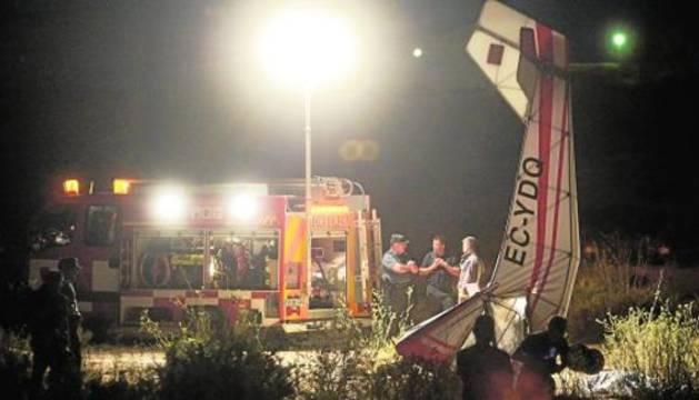 Un hombre de 51 años fallece al caer la avioneta que pilotaba en Murcia