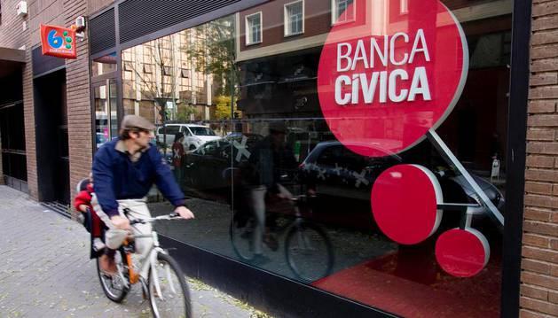 Imagen de una sucursal de Banca Cívica.