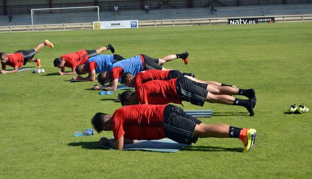 Primer entrenamiento de Osasuna