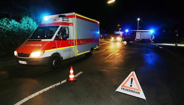 Al menos 21 heridos por un hombre que ha atacado a los pasajeros de un tren