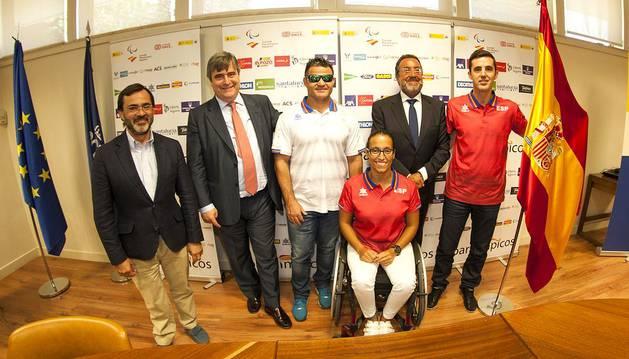 Cuatro navarros buscarán medalla en los Juegos Paralímpicos de Río 2016