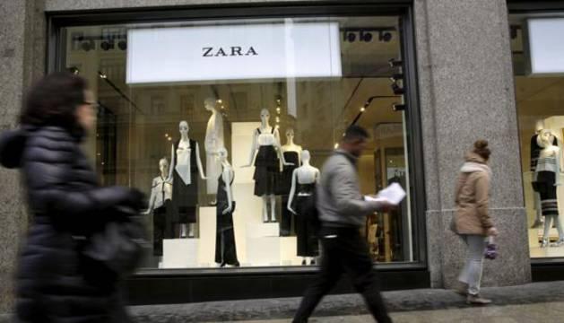 Una de las tiendas de Zara en Madrid.