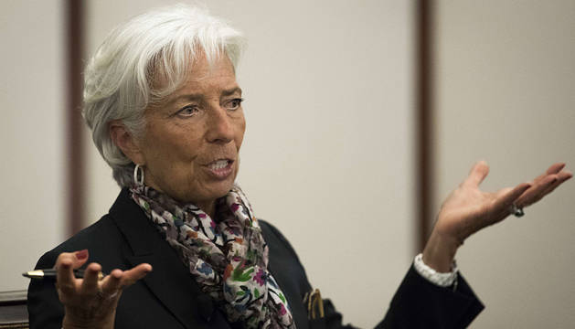 Christine Lagarde, presidenta del FMI.