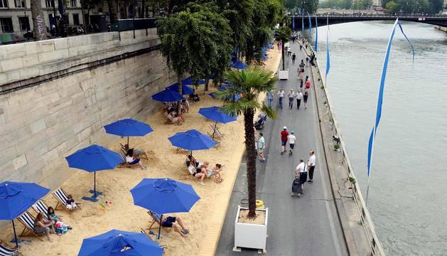 Inauguran las playas del Sena