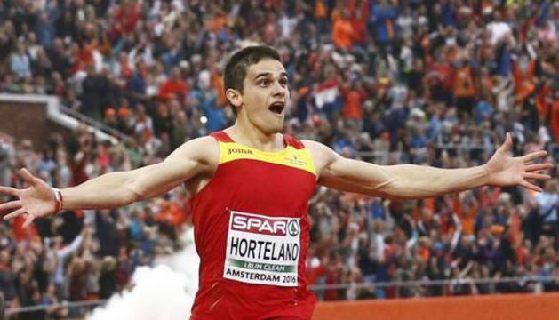 Bruno Hortelano, en el pasado Europeo de atletismo.