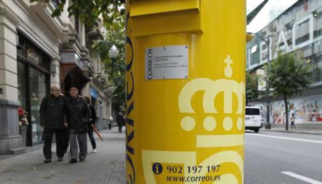 Buzón de correos.