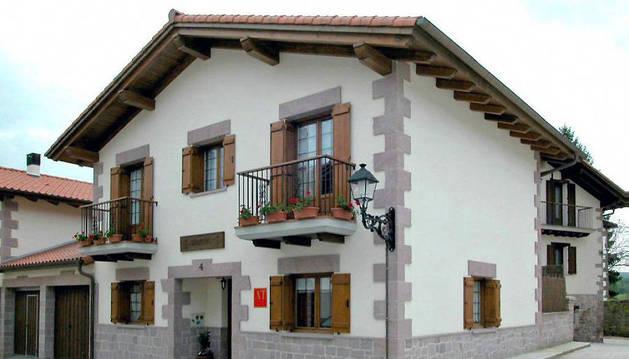 Casa rural Baleztenea, en Lantz.
