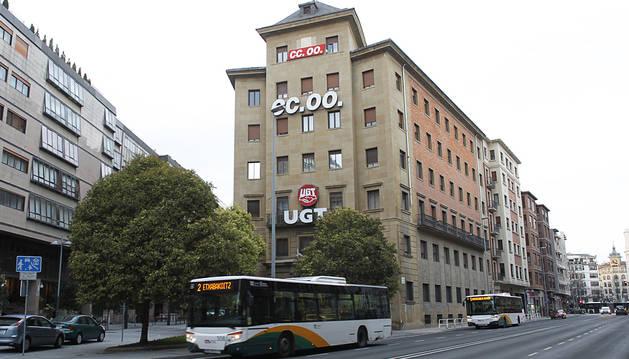 UGT-Navarra tuvo unas pérdidas de 1,3 millones de euros en 2015