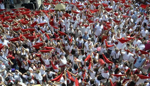 Viana dio ayer inicio a sus fiestas patronales