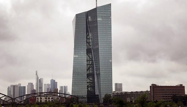 Sede del BCE en Frankfurt (Alemania).