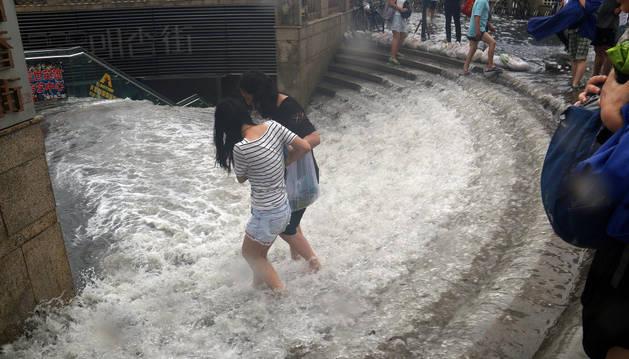 Diecinueve muertos y 72 desaparecidos por el temporal en el norte de China