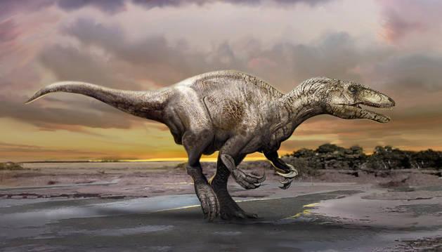 Hallan fósiles de un temible dinosaurio que mataba y mutilaba con sus garras
