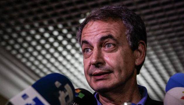 José Luis Rodríguez Zapatero, durante su última visita a Venezuela.