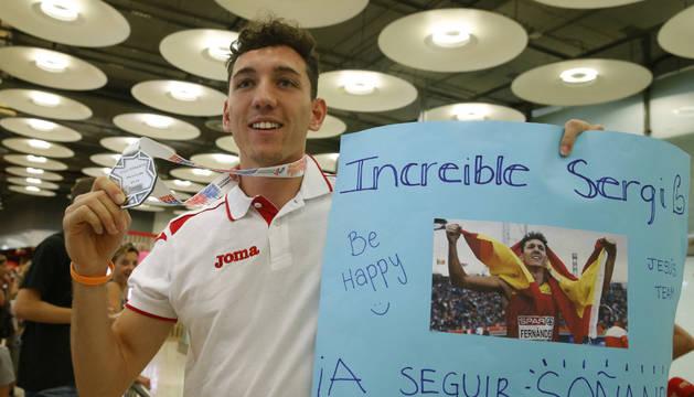 Fernández, con su plata en el Europeo, tiene hoy la semifinal de 400 vallas.