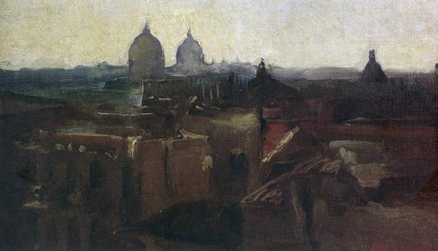 'Vista de Roma', obra de Jesús Basiano.