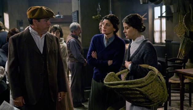 Escena de la serie 'La Señora'.