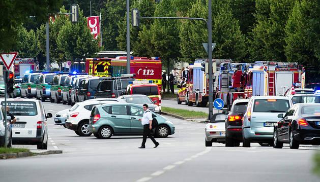 Varios muertos en un tiroteo en un centro comercial de Múnich