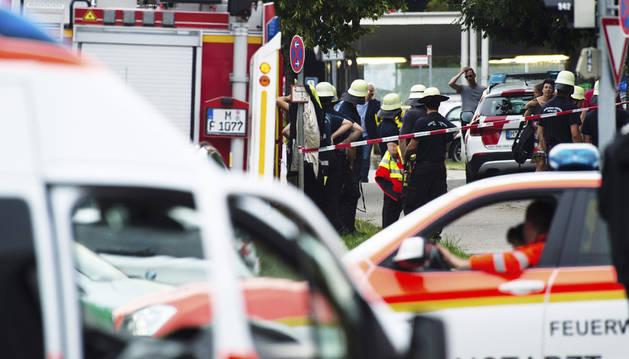 La Policía cree que varios atacantes están a la fuga tras tiroteo