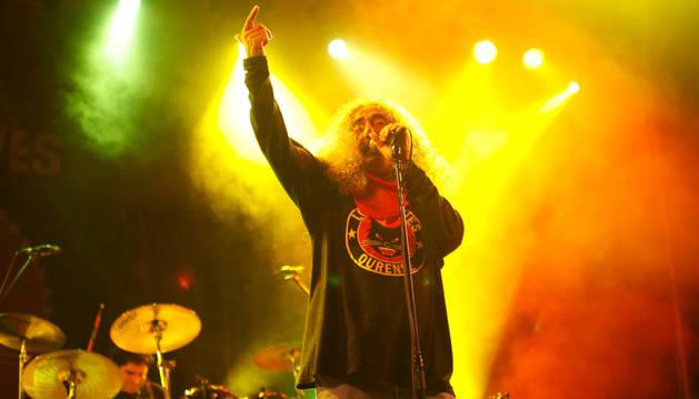 Yosi Domínguez, vocalista de Los Suaves.