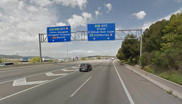 Las detenciones se produjeron en el enlace de la autopista AP7 con la B-23, a la altura del Papiol.