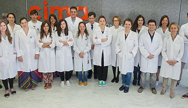 Equipo del CIMA y de la Clínica Universidad de Navarra que participa en el consorcio europeo PROCROP.