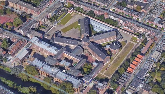 El complejo penitenciario de Rotterdam.