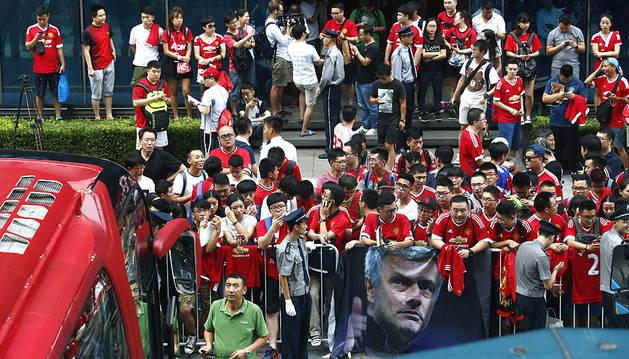 Pekín se queda sin el primer Mourinho-Guardiola por el mal tiempo
