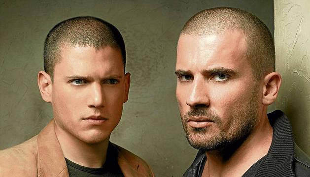 Los protagonistas de 'Prison Break'.