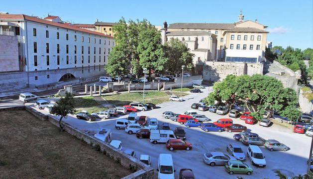 Bildu recupera el proyecto de parking en las Huertas de Santo Domingo