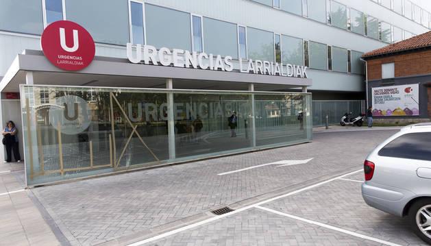 Edificio de Urgencias del Complejo hospitalario.