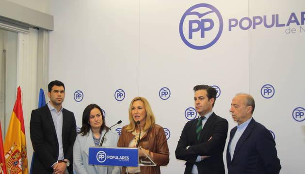 El PP navarro lleva ya dos años dirigido provisionalmente  por una gestora