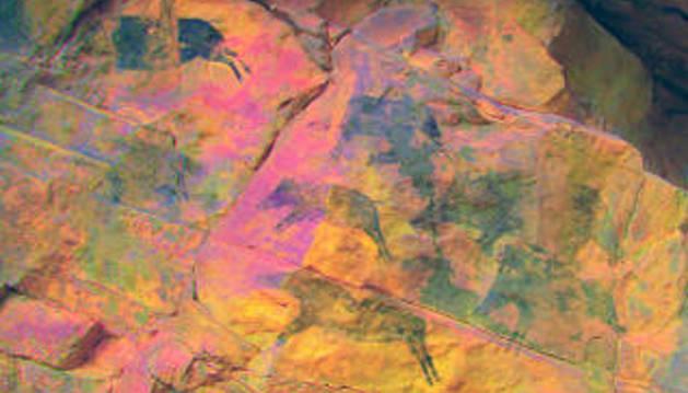 Descubren en Vilafranca (Castellón) pinturas rupestres de hace 7.000 años