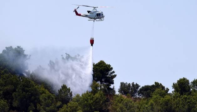 El incendio de Artana, que ha quemado ya mil hectáreas, podría deberse a una quema