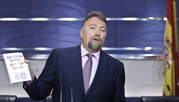 El diputado de Foro Asturias Isidro Martínez Oblanca.