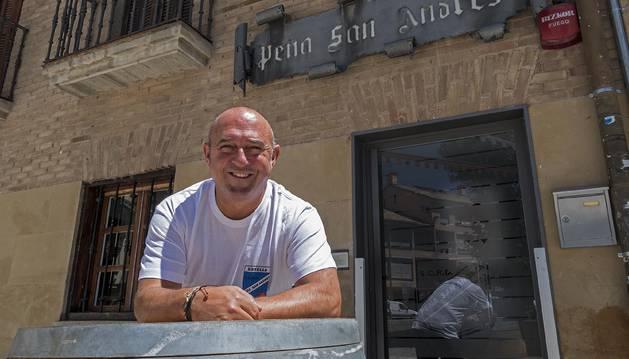 Javier Nicuesa representará a San Andrés en el cohete Estella