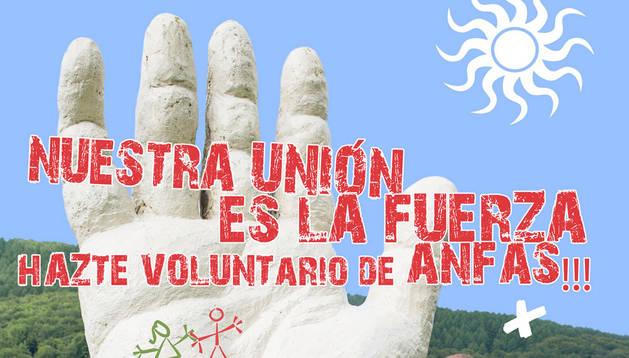 Anfas presenta su campaña de voluntariado 2016 con la imagen de Iñaki Perurena