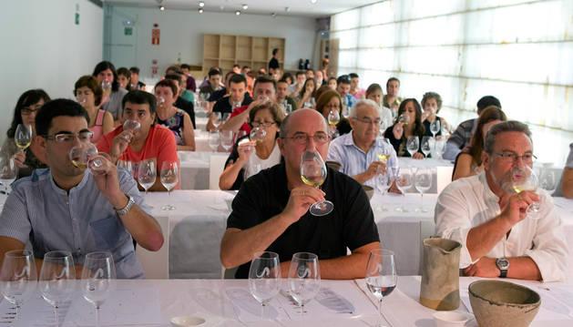 Degustación de aceite y catas de vino maridado con queso, este verano en Pamplona