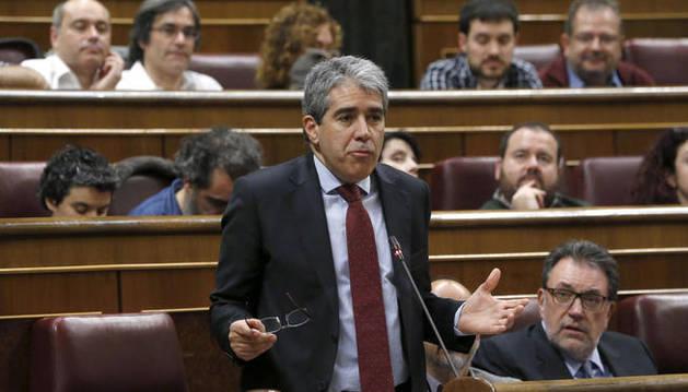 Francesc Homs, portavoz de Convergència, en el Congreso.