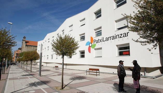 Colegio Patxi Larráinzar en la Rochapea.