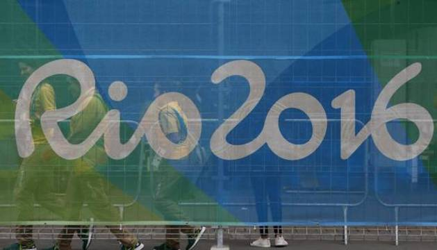 Imagen del logo de los Juegos Olímpicos de Brasil 2016.