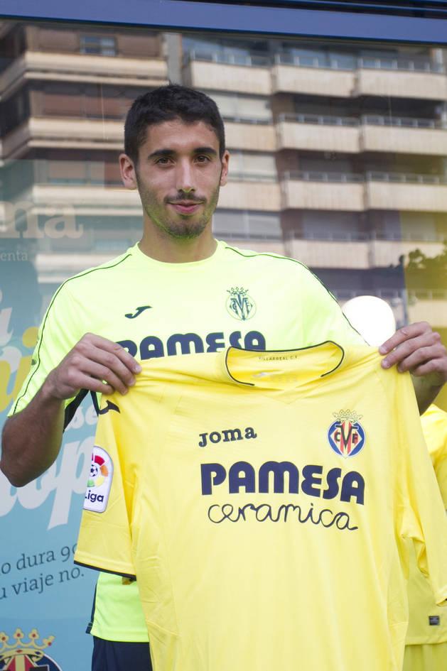 A PUNTO DE FICHAR. José Ángel ha estado a un paso de ser jugador de Osasuna, pero ha ido al Villarreal.